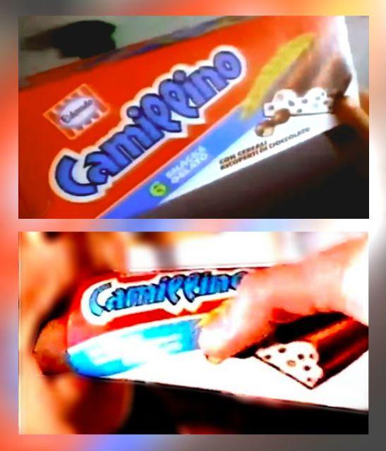 Camillino Eldorado - 1996 🍫 . ➡️ Stacchi pubblicitari dallo ...