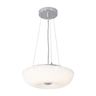 Alternating Current AC153 Swirled LED Pendant Small