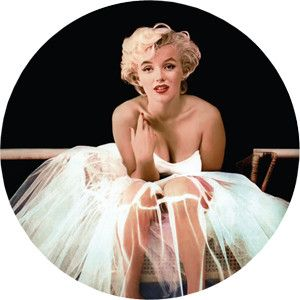 "Marilyn Monroe Golden Collection on Picture Disc Vinyl LP Golden Collection (LP) stunning limited edition 12"" picture vinyl release of digitally remastered favorites including ""Diamonds Are A Girl's B"