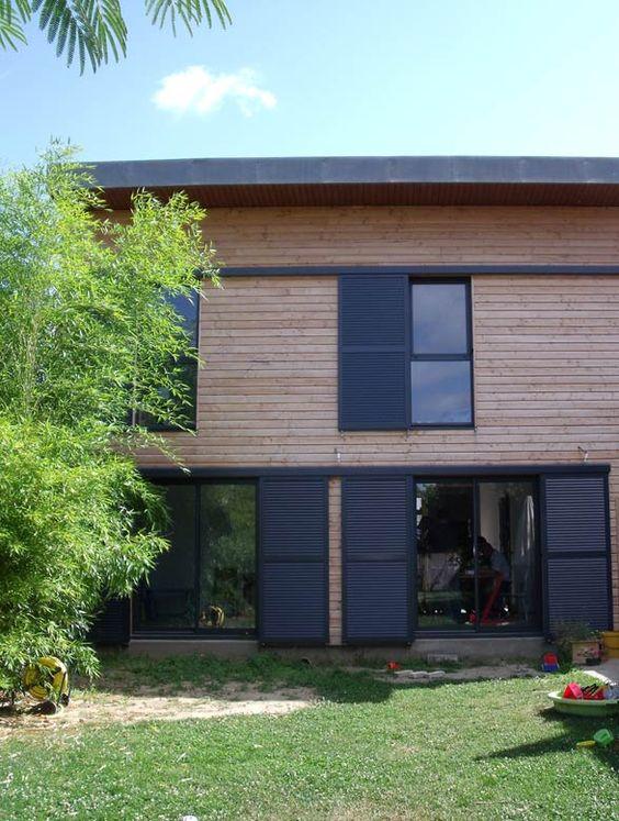 You charpente bois maison bois maison ossature bois for Construction bois vosges