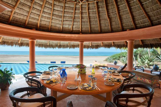 Dining Palapa Casa La Playa at Cuixmala
