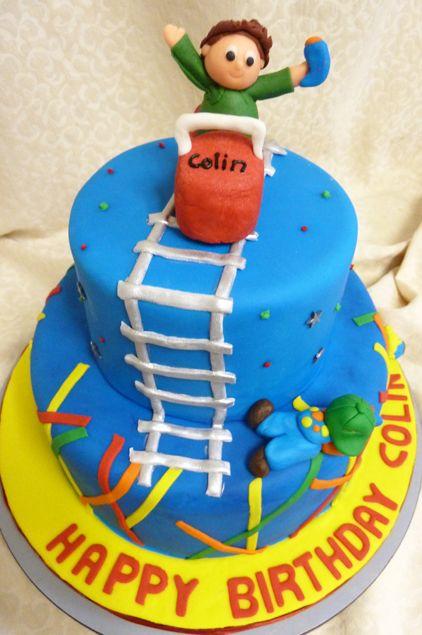 Roller coaster Cakes | Kids Birthday Cakes