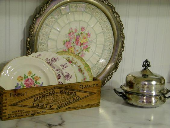 Broken plate craft