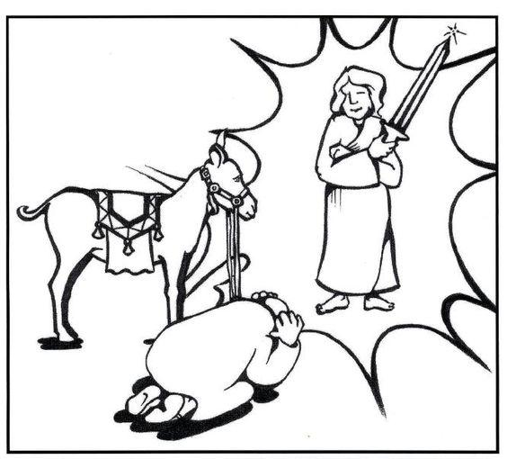 balaam and the talking donkey crafts - Google Search   Balaam/donkey ...