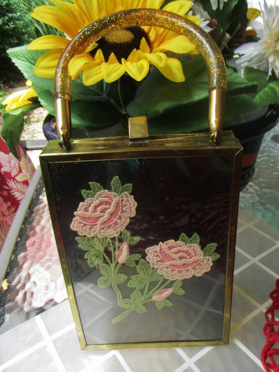 Tyrolean-Like Vintage Bag Purse by trackerjax on Etsy