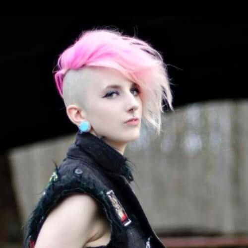 Pin On Short Punk Hairstyles