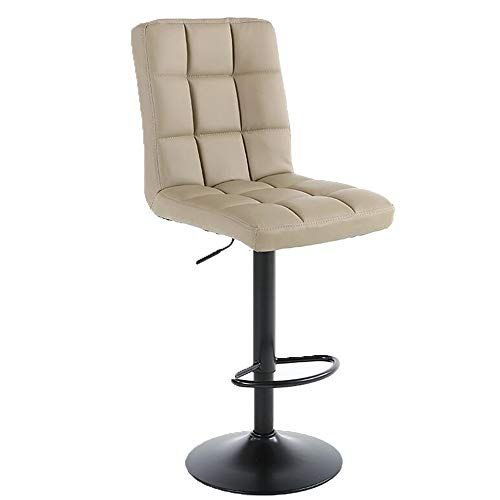 Ye Zi Chair Home Wrought Iron Liftable Swivel Chair Makeup Chair Comfortable And Durable Color Beige Chair Swivel Chair Comfortable Chair