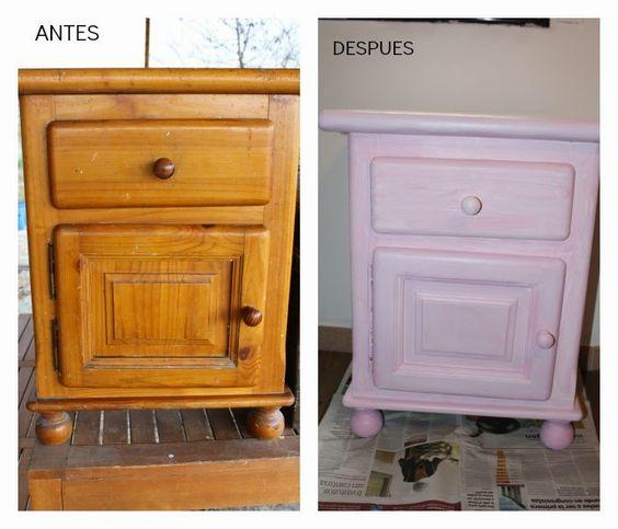 reciclar muebles para habitaci n infantil vinilo antes