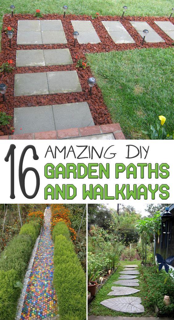 16 Amazing Diy Garden Paths And Walkways Gardens 400 x 300
