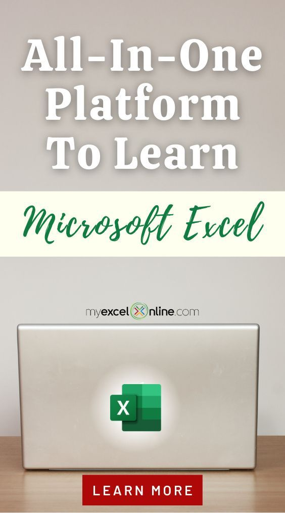 Microsoft Excel Training Free Excel Online Training Courses Myexcelonline Excel For Beginners Microsoft Excel Formulas Excel Tutorials