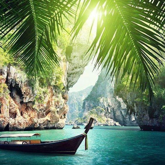 Phra Nang Beach, Krabi, Tailandia