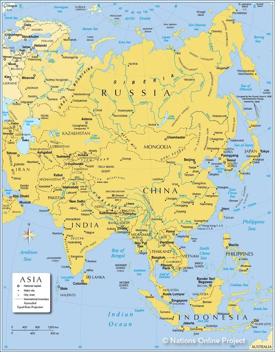 Asia Map  Editable PowerPoint Slides This deck of 60 editable