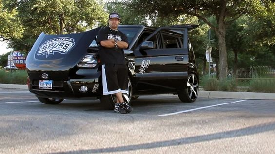 Check out David Ayala's epic Spurs-themed Kia Soul, the winner of Pride My Ride for Game 1!