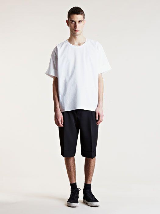 T恤款式 oversize TEE