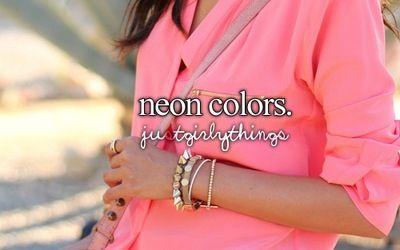Love neon in summer