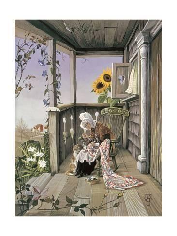 Giclee Print: Anne Grahame Johnstone Art Print by Anne Grahame Johnstone : 24x18in