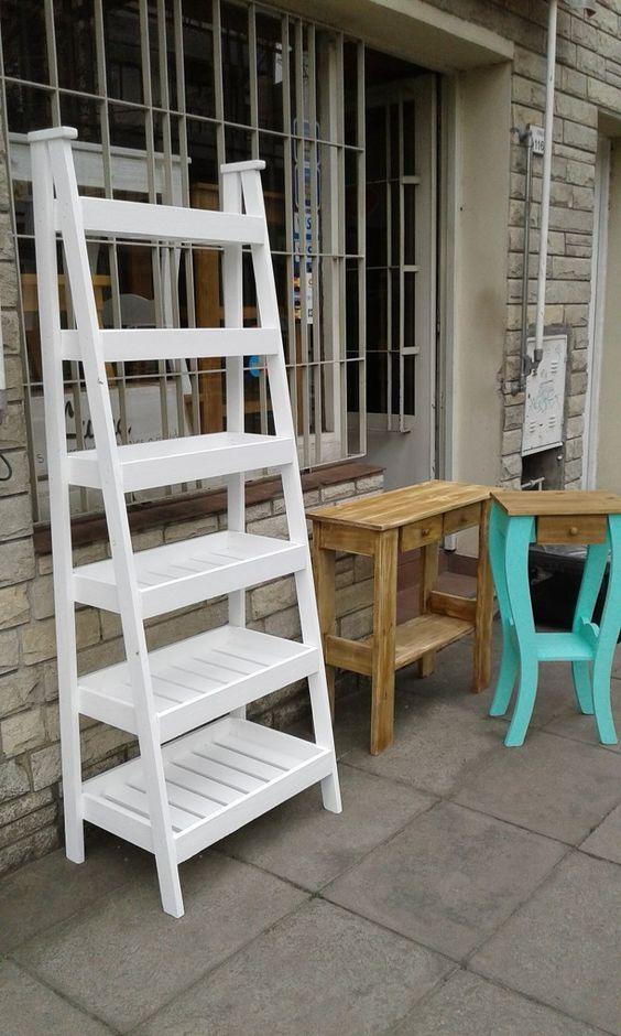 repisa escalera verdulera 1 80 mts con seis estantes