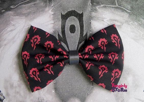#Horde Bow by Fangirly Storm ($6.75)