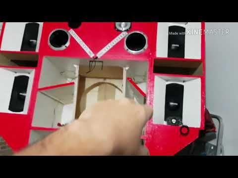 Construindo Alto Falante De 18 Part 2 Youtube Com Imagens