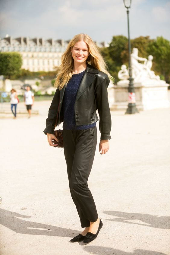 Pin for Later: Germany's Next Topmodel ganz ohne Casting-Show Anna Ewers Street Style