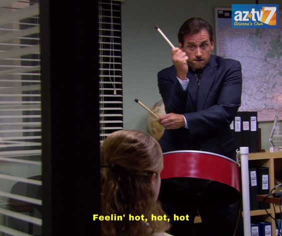 #Phoenix hit 100° today for the first time in 2016. How do you feel?! #AZWeather #AZTV