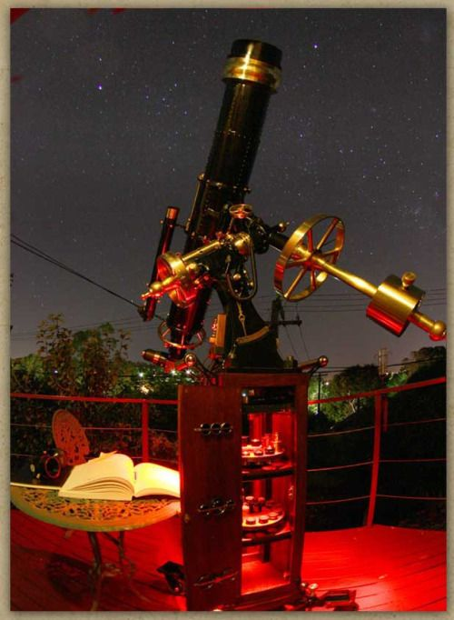 steampunk telescope - Google Search