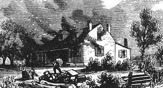 The burning of the Niagara.