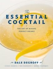 The Essential Cocktail is the go-to book for serious mixologists and cocktail enthusiasts.