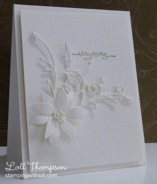 madera corner die (memory box), blooming poinsettia die (poppy stamps) stunning...