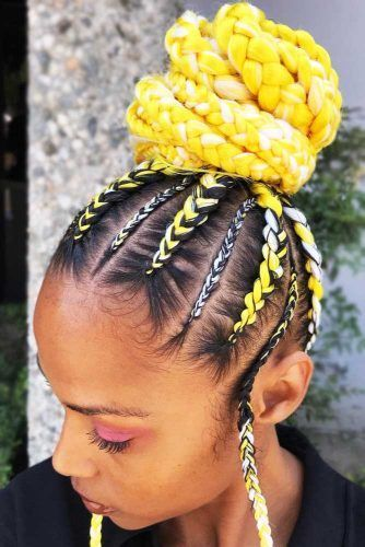 Trendy Black Braided Hairstyles That Catch People S Eyes And Keep Natural Hair Safe Kids Braided Hairstyles Hair Styles Braided Hairstyles