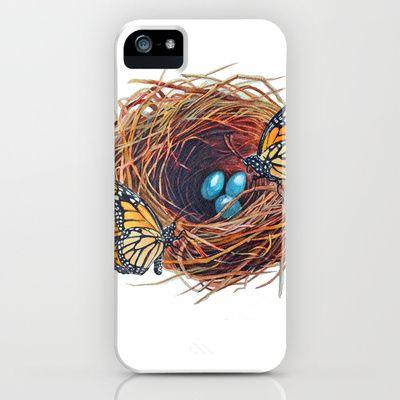Monarch Nest  iPhone & iPod Case by Jody Edwards Art - $35.00