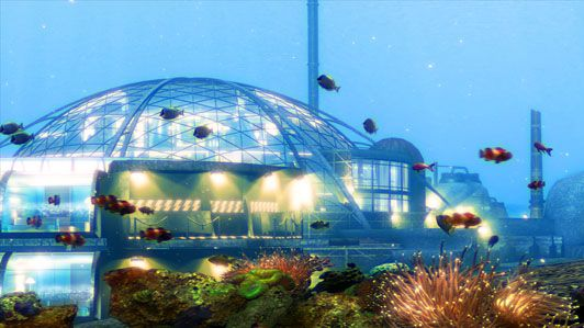 How cool would it be if we would have underwater kolonies that are completely self sustainable.: