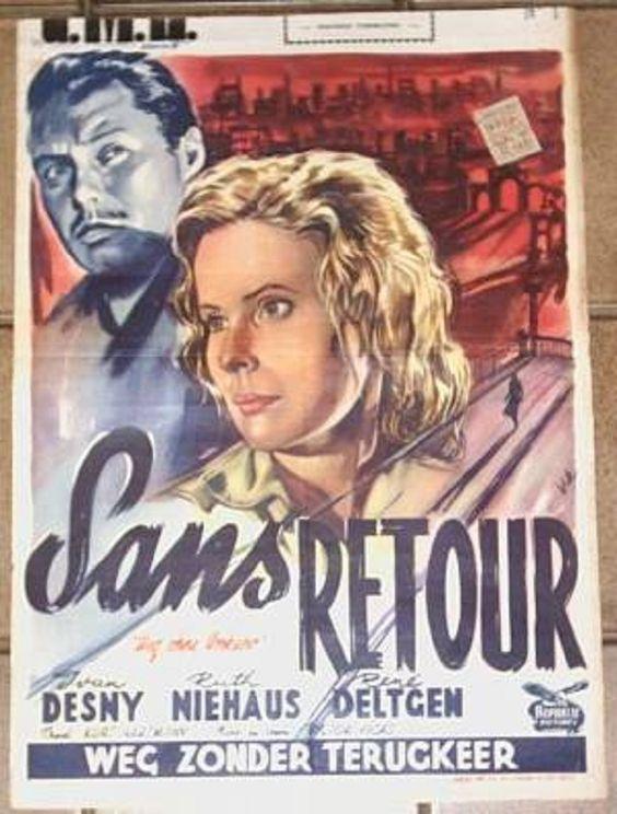 1955 LE CHEMIN SANS RETOUR