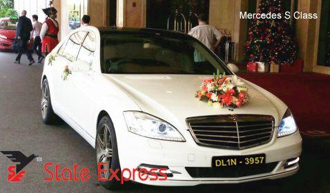 Benz S Class By Wedding Car Rental Delhi On Car Hire For Wedding Benz S Wedding Car