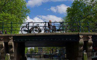 La Hollande, circuit vélo vers Breukelen