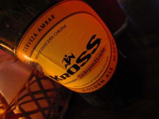 Kross beer (chilean beer)