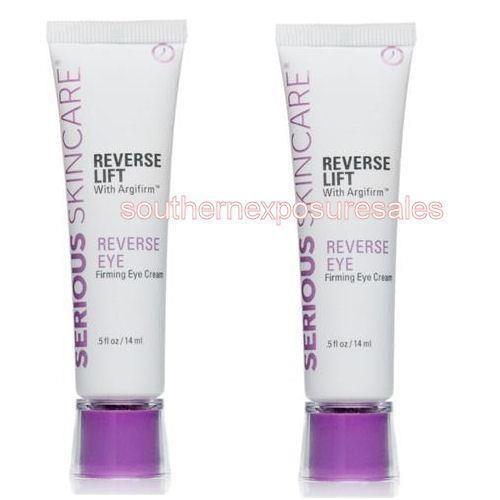 Serious Skin Care Reverse Lift Firming Eye Cream With Argifirm 2 5oz Tubes Seriousskincare Skincare Firming Eye Cream Serious Skin Care Eye Firming