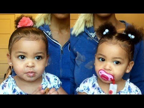 Quick Easy Hairstyles For Babies Youtube Baby Girl Hairstyles Easy Hairstyles Quick Baby Hairstyles