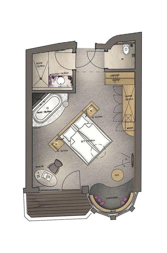 mein romantisches Hotel Toalstock Herzblatt Suite 35-40 m²
