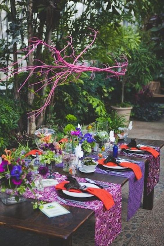 Casamento colorido – Verão: