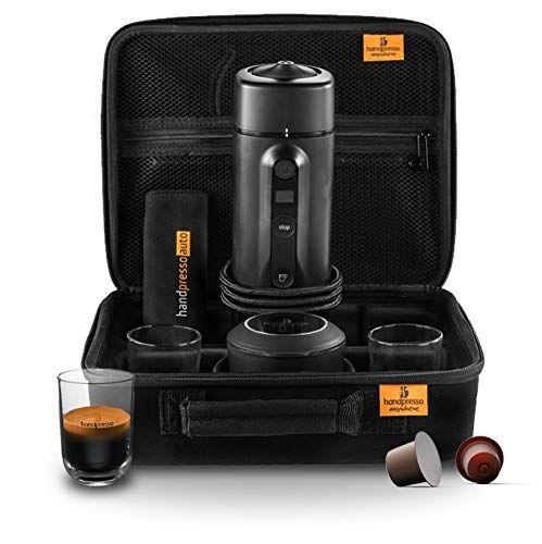 Handpresso Auto Set Capsule 48310 Coffret Machine Expresso Portable A Capsule Pour Voiture 12v 24v En 2019 Machine Expresso Voiture Et Portable