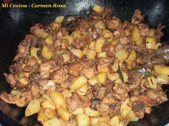 Mi Cocina: CALDERETA DE CHIVO LECHAL MALAGUEÑO