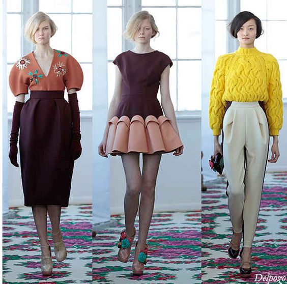 Delpozo Fall 2013 Ready To Wear Collection