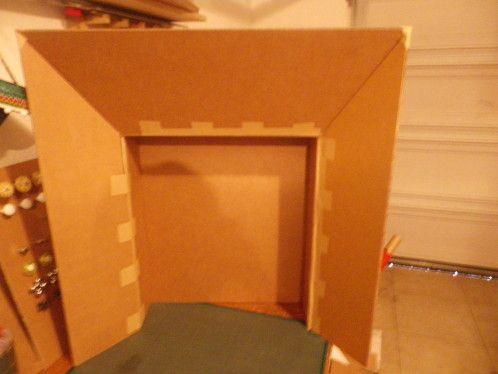 cheminee carton noel excellent la chemine de nol en carton with cheminee carton noel top. Black Bedroom Furniture Sets. Home Design Ideas