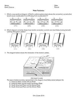 Worksheet Earth Science Review Worksheets flats earth science and the ojays on pinterest worksheet plate tectonics editable
