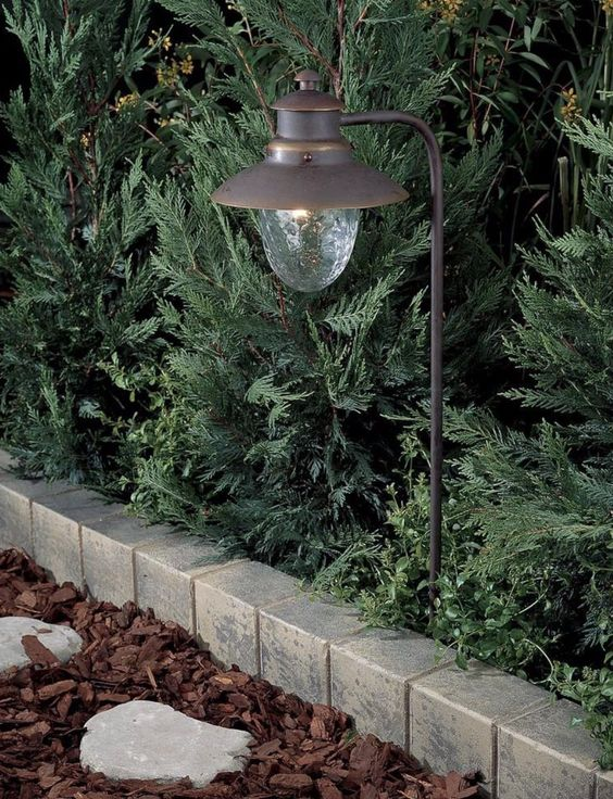 Progress Lighting P5257 20 Copper One Light Path Landscape Lighting Design Progress Lighting Path Lights