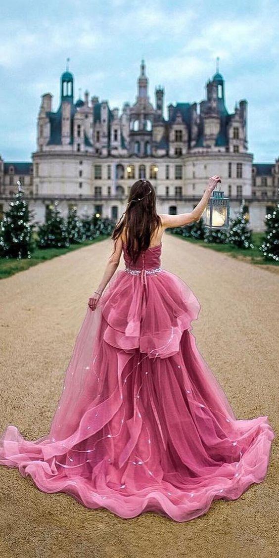 disney wedding dresses purple a line ruffled skirt pochekh