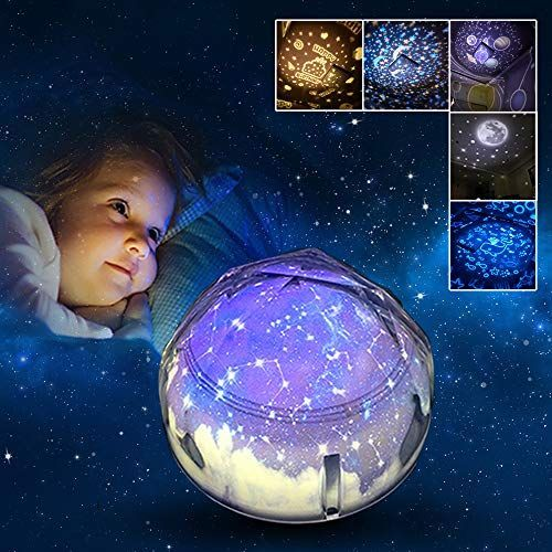 Romantic Star light LED Starry Night Sky Projector Lamp Gifts for grilfriend//kid