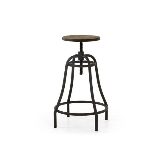Set of 2 metal outdoor stools Connor ($195) ❤ liked on Polyvore featuring home, outdoors, patio furniture, outdoor stools, outdoor garden furniture, metal outdoor furniture, garden furniture, metal patio furniture and garden patio furniture