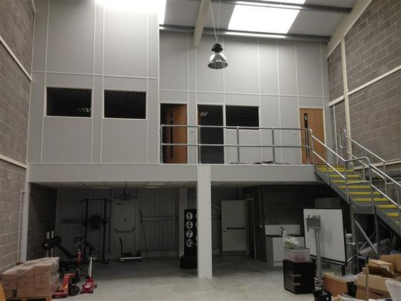 Man Cave Portsmouth : Mezzanine floor portsmouth warehouse storage fit outs